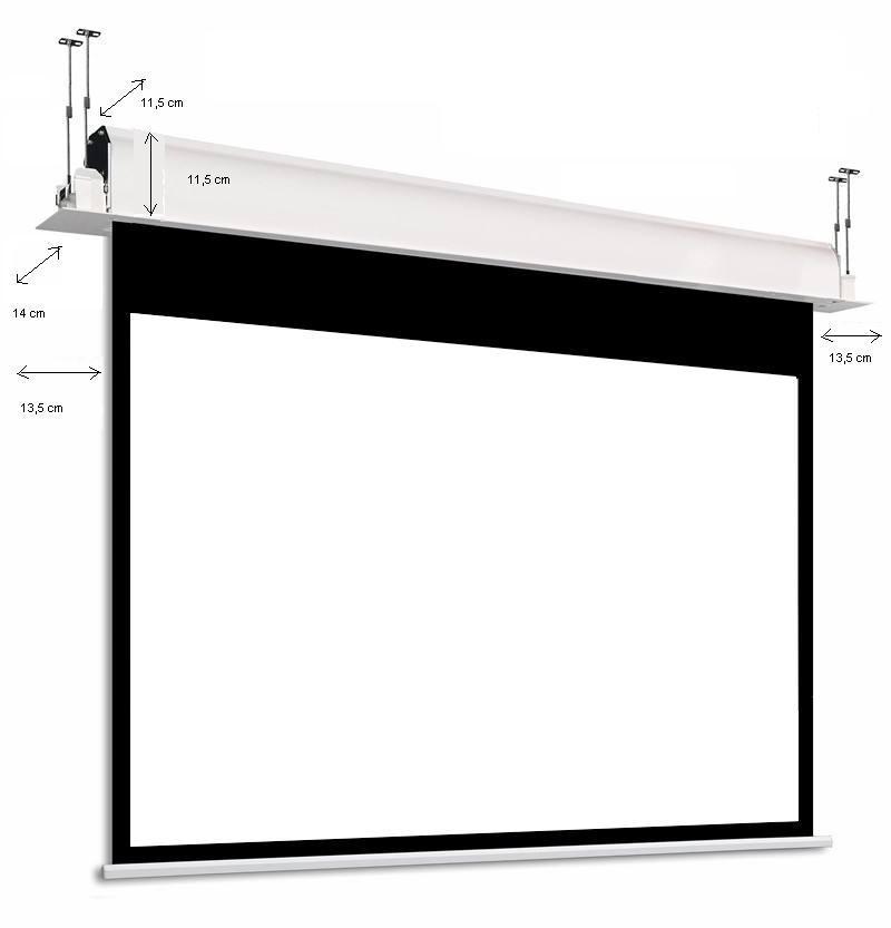 rahmenleinwand f r beamer aufprojektion rahmenleinw nde akustik rahmen leinwand 16 9. Black Bedroom Furniture Sets. Home Design Ideas